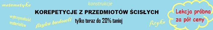 100% gratis - reklama korepetycji z przedmiotów ścisłych