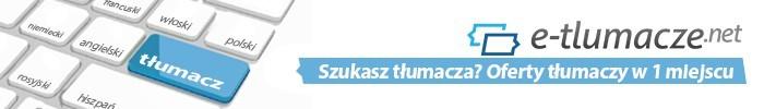 Reklama e-tlumacze.net - oferty tłumaczy 2