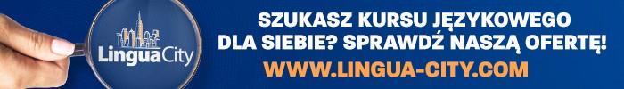 100% gratis - reklama kursu językowego