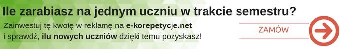 Reklama reklamy bannerowej 2