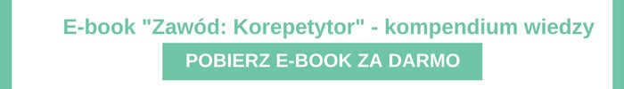 ebook zawód korepetytor sierpień