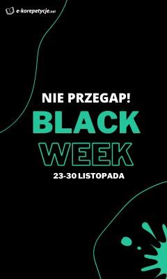 Black Week - sidebar