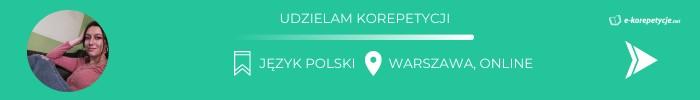 Judyta Sobecka - język polski