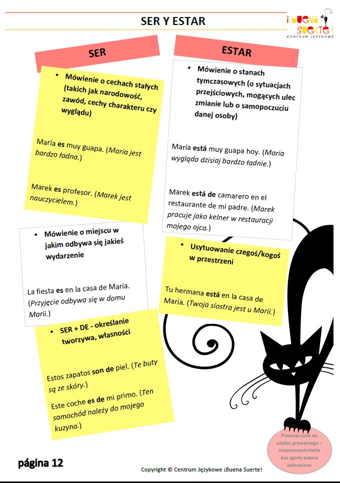 gramatyka z hiszpanskiego cz.2