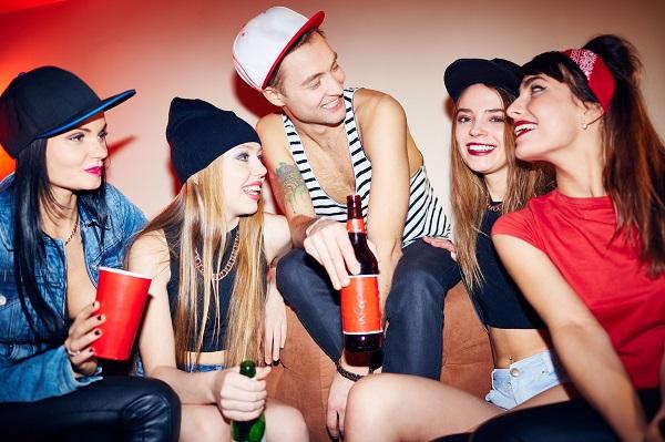 nastolatki impreza
