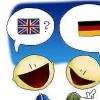 Anna: Ich spreche Deutsch und Englisch. I speak German and English.